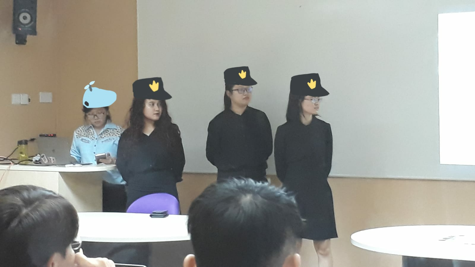 group presentation in class