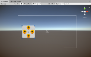 A picture showing the arrangement of the button assets inside the panel.