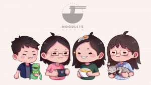 A picture showing the Noodlets!