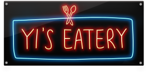 A picture showing Yi's Eatery logo.