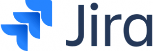 A picture showing the Jira logo.