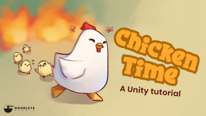 A picture showing the Chicken Time header.